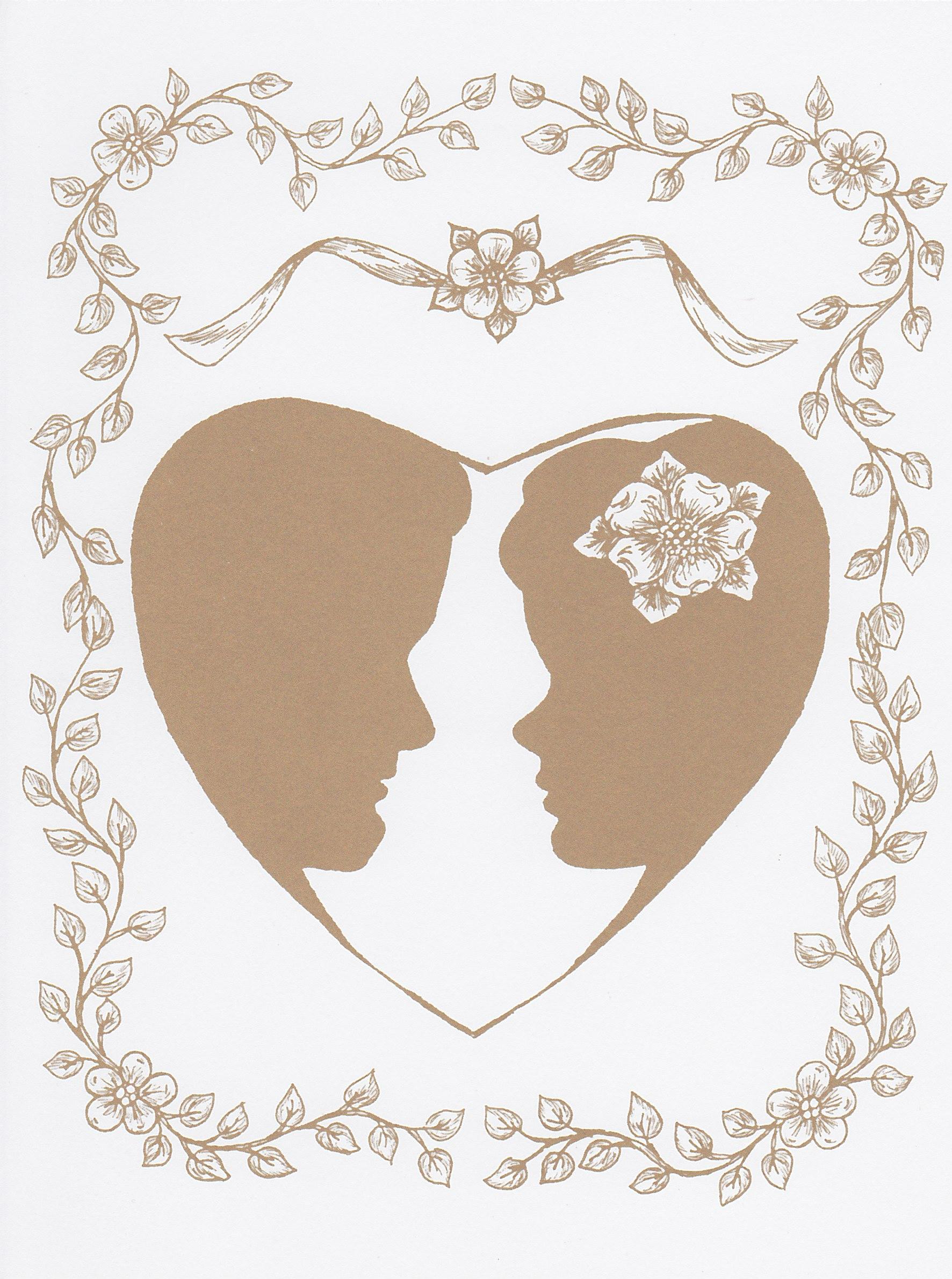 Рисунок на юбилей свадьбы